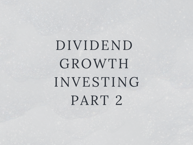 Dividend Growth Investing